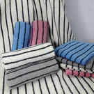 【MORINO】美國棉色紗彩條浴巾