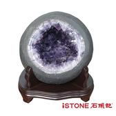 天然紫水晶洞 E (網路商城獨家小尺寸聚寶盆) 石頭記