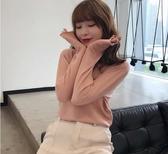 薄款毛衣 毛衣女2020春裝新款寬鬆外穿半高領針織衫薄款內搭洋氣【88折免運】