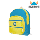 MOKUYOBI / Big Pocket / L.A 空運繽紛旅行必備多功能筆電後背包 - 螢光黃