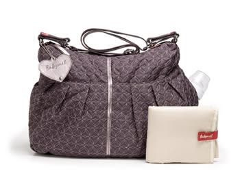 Babymel 媽媽包- Amanda Quilted艾曼達時尚包 -灰、米、黑色