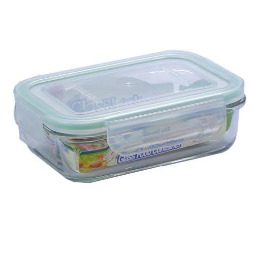GlassLock 強化玻璃微波保鮮盒(400ml)【愛買】