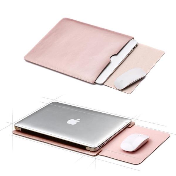 電腦包intermail蘋果MacbookAir13.3英寸筆記本內膽包配件瘋馬紋嬡孕哺 618購物