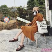 娃娃鞋 原宿韓國娃娃復古可愛圓頭皮帶扣ulzzang小皮鞋(2色/35-39)