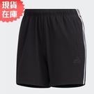 【現貨】Adidas Must Haves 女裝 短褲 慢跑 休閒 口袋 黑 【運動世界】FT2878