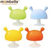 英國 Mombella - Q比蘑菇固齒器 媽貝樂 0578 黃色 / 橘色 / 綠色 好娃娃