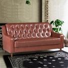 沙發   新上海-百年經典復古三人沙發172cm-三人座皮沙發-$7500-摩卡咖啡-限量