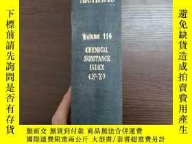 二手書博民逛書店CHEMICAL罕見ABSTRACTS Vol.114 CHEMICAL SUBSTANCE INDEX(S-Z)