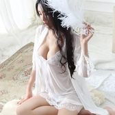 【伊人閣】性感睡衣女夏冰絲日系鏤空透明情趣極度誘惑