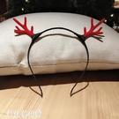 聖誕節發箍鹿角頭飾發夾子森女系發飾品裝飾頭扣頭箍小麋鹿發卡子 科技藝術館