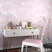 夢幻氣球兒童房墻紙 男孩女孩臥室無紡布壁紙 DR19190【男人與流行】