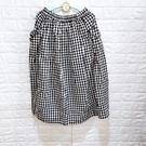 棒棒糖童裝(C2362578)女裝鬆緊腰大格子款左右側雙口袋休閒長裙