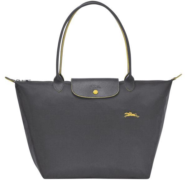 LONGCHAMP 1899 女士女包 LE PLIAGE COLLECTION系列織物大號手提單肩包購物袋