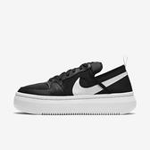 Nike Wmns Court Vision Alta Txt [CW6536-001] 女鞋 運動 休閒 柔軟 黑 白