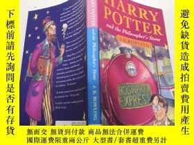 二手書博民逛書店harry罕見potter and the philosopher s stone: 哈利波特與魔法石Y200