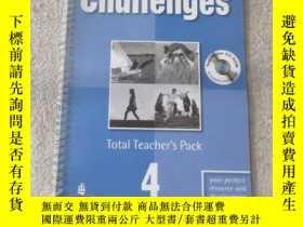 二手書博民逛書店Challenges:罕見Total Teachers Pack