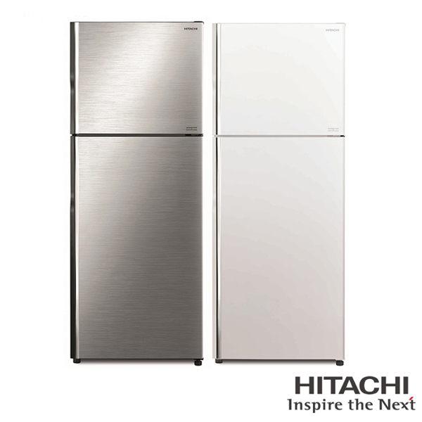 留言加碼折扣享優惠限區運送HITACHI 1級能效 443L 雙門變頻冰箱/RV449