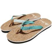 adidas 拖鞋 Eezay Parley W 咖啡 黑 藍 休閒 夾腳拖 人字拖 涼拖鞋 女鞋【PUMP306】 BA8824