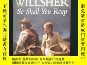 二手書博民逛書店AUDREY罕見WILLSHER So shall You Re