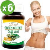 【Lovita 愛維他】高單位綠咖啡400mg (60顆/60天份)超值六入組