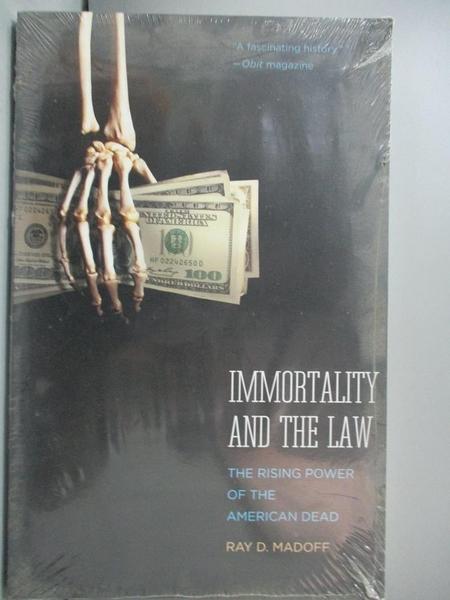 【書寶二手書T4/法律_WFX】Immortality and the Law: The Rising Power of