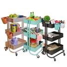 【品樂生活】免運 北歐風極簡籃網推車(贈掛籃X2)/床邊桌/便利桌/摺疊桌/懶人桌/邊桌(IKEA)