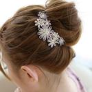 新娘漢服發飾韓國蝴蝶結頭飾