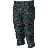 ASICS亞瑟士 男款印花體軸調整七分緊身褲 (彩色星芒) XXK975-90RA