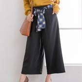 東京著衣-夢展望-高腰雪紡寬版長褲-M.L(4190034)