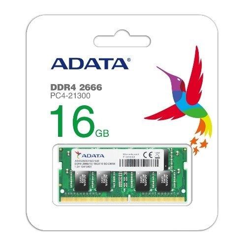 威剛 筆記型電腦記憶體 【AD4S2666316G19-R】 DDR4-2666 16GB CL19 新風尚潮流