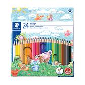 施德樓 144 NC24快樂學園 油性色鉛筆24色組