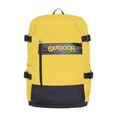 【OUTDOOR】風格前線-防盜後背包-黃色 OD201115YL
