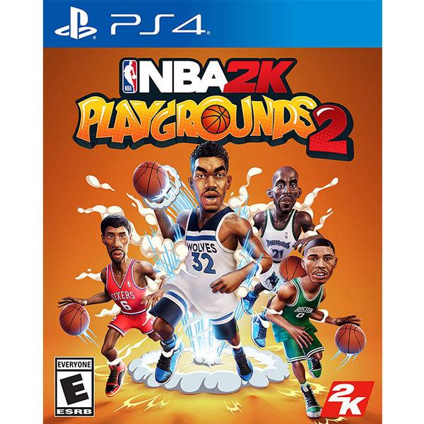 【PS4 遊戲】NBA 2K 熱血街球場 2《中文版》