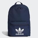 【跨店折後$1380】adidas Originals ADICOLOR CLASSIC 經典 內夾層 藍 Logo 雙肩背包 三葉草 可手提 ED8668
