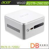 acer Revo Cube RN76 i5-7200U Win 10 迷你桌上型電腦-送HP DJ1110彩色噴墨印表機(六期零利率)