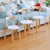 兒童椅家用靠背椅實木寶寶椅小學生座椅防滑小凳子換鞋凳幼兒園椅35cm  聖誕交換禮物xw