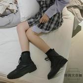 馬丁靴女英倫風短靴女瘦瘦靴韓版百搭【時尚大衣櫥】