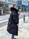 反季羽絨棉衣棉服女長款過膝韓版寬鬆面包服加厚棉襖新款冬季外套 依凡卡時尚