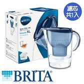 德國BRITA  馬利拉濾水壺-藍(1壺1芯)【愛買】