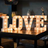求婚佈置創意用品LED字母燈裝飾 創意ins英文發光生日數字燈驚喜 【美物居家館】