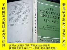 二手書博民逛書店LATE-MEDIEVAL罕見ENGLAND 1377-1485