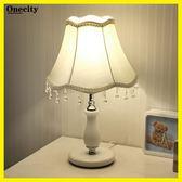歐式臥室裝飾婚房溫馨個性小檯燈創意現代可調光LED節能床頭燈【onecity】