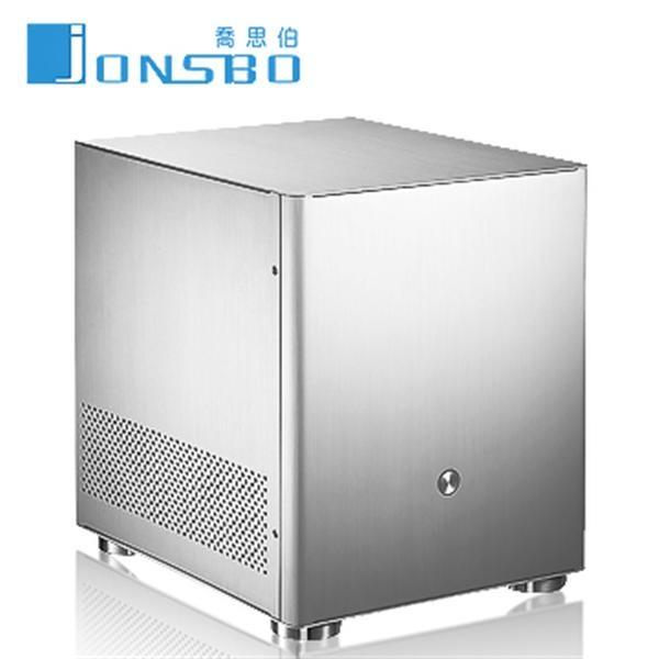 【綠蔭-免運】JONSBO V4-銀色 U3全鋁機殼