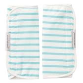 【奇哥】多功能揹巾口水巾-藍綠紋