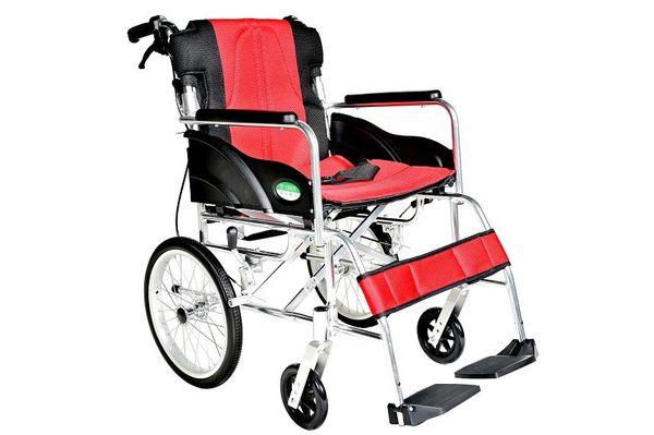 輪椅B款 / 鋁合金輪椅- (小輪背可折)//  YC-867LAJ  贈  好禮