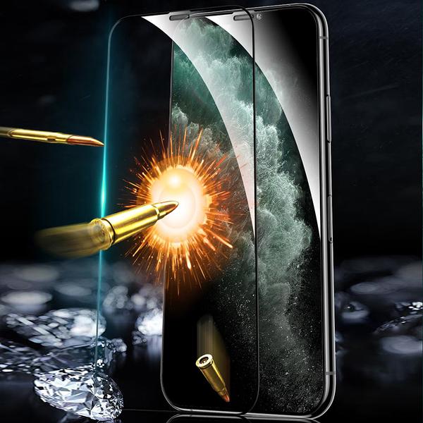 TOTU iPhone11ProMax/XSMax鋼化膜保護貼保貼4K滿版寶石防塵 贈貼膜器 犀牛家族