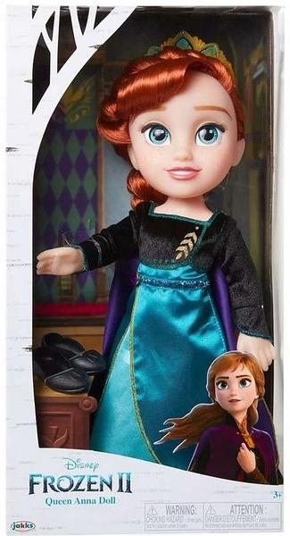 迪士尼 冰雪奇緣2 Frozen 2 女王造型 安娜 娃娃