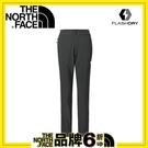 【The North Face 美國 女 排汗九分褲《黑色》】3CJT/吸濕排汗/透氣/休閒褲/九分褲