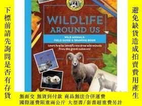 二手書博民逛書店Wild罕見Animals--Field Guide & Dra