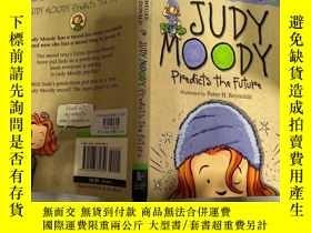 二手書博民逛書店Judy罕見Moody predicts the future 朱迪·穆迪預測未來。Y200392